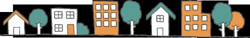 町のイメージ図