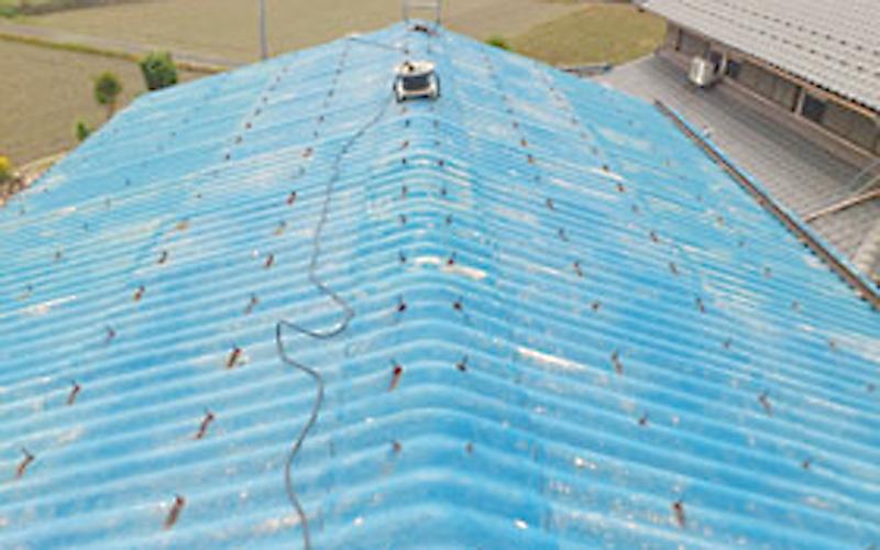 スレート屋根の場合 before